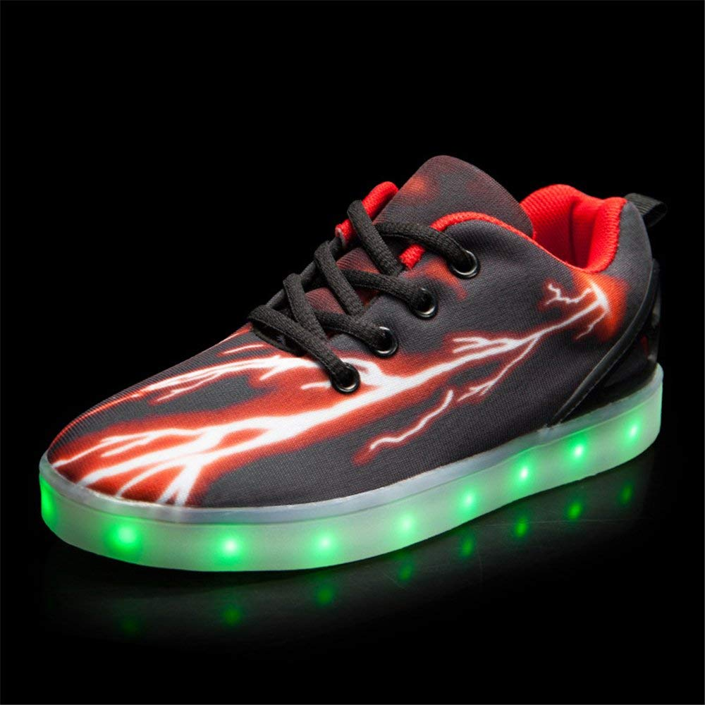 Jedi fight back LED Light Up Shoes USB Flashing Sneakers for Kids Boys Girls