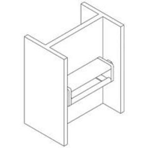 Column support for B22/B24 (Pair) (B614 ZN)