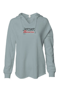 Jetset Licorice Women lightweight washed hooded pullover sweatshirt - assorted colors - Resort Pop