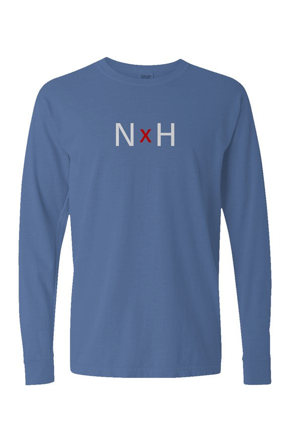 Noble X Human pigment dyed heavyweight long sleeve t shirt - assorted colors - Resort Pop