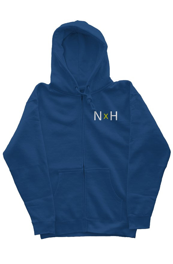 Noble X Human heavyweight zip hoodie - assorted colors - Resort Pop