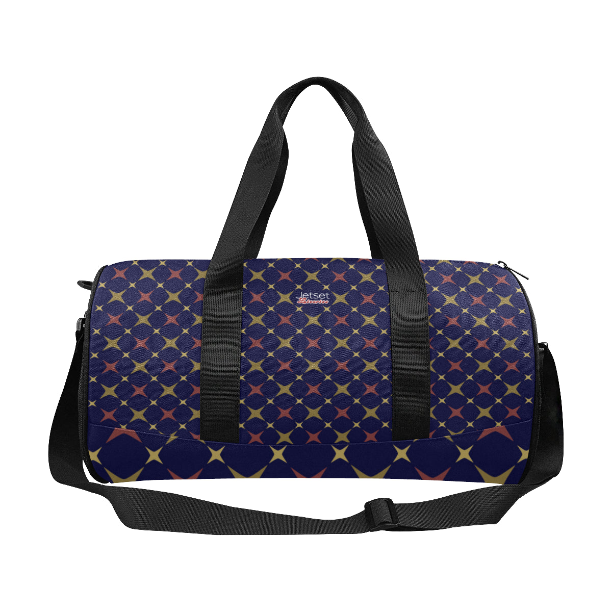 Jetset Licorice Designer Collection duffle bag (red-blue) - Resort Pop