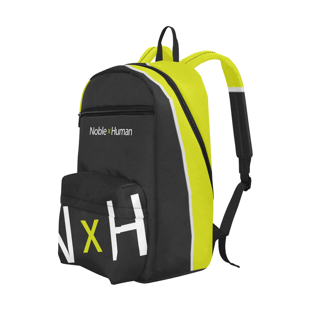 Noble X Human large capacity travel backpack (yellow) - Resort Pop