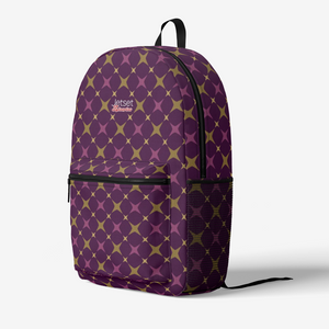 Jetset Licorice Designer Collection everyday laptop backpack (purple-purple) - Resort Pop