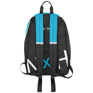 Noble X Human large capacity travel backpack (blue) - Resort Pop