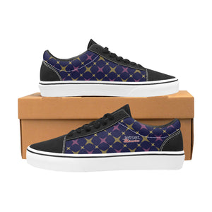 Jetset Licorice Designer Collection Men skate low top shoe (purple-blue) - Resort Pop