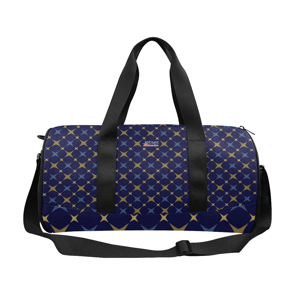 Jetset Licorice Designer Collection duffle bag (blue-blue) - Resort Pop