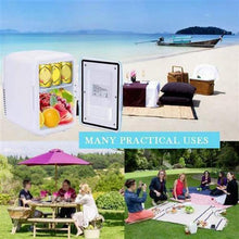 Laden Sie das Bild in den Galerie-Viewer, Summer must-have! New Stylish Car Refrigerator In The Car Small Freezer Mini Fridge Car Fridge 12V Universal Cooler For Car Home
