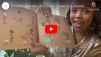 "Proud to Entertain: Storytime - ""Julian is a Mermaid"" read by Ashley Stroud"