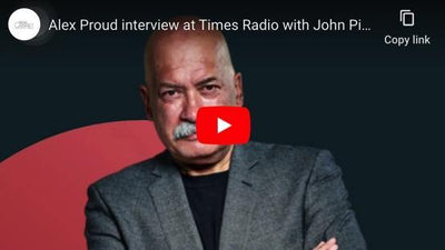 Alex Proud interview at Times Radio with John Pieenar