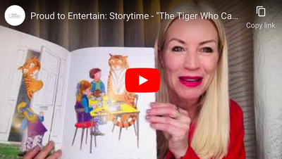 "Proud to Entertain: Storytime - ""The Tiger Who Came to Tea"" read by Denise Van Outen"