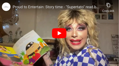 "Proud to Entertain: Story time - ""Supertato"" read by Anubis Finch"