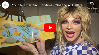 "Proud to Entertain: Storytime - ""Sharing A Shell"" read by Anubis Finch"
