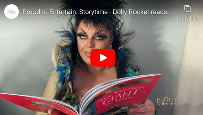 "Proud to Entertain: Storytime - Dolly Rocket reads ""The Smartest Giant in Town"""