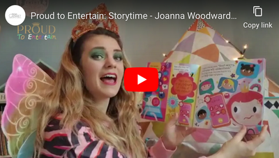 "Proud to Entertain: Storytime - Joanna Woodward reads ""Hope, the Rainbow Fairy"""