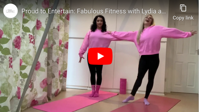 Proud to Entertain: Fabulous Fitness with Lydia and Katherine