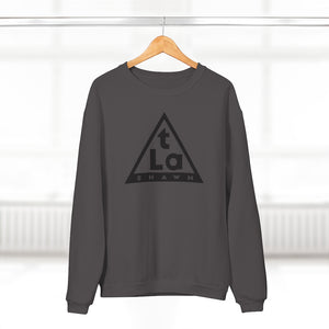 T La Shawn Pyramid Logo - Crew Neck Sweatshirt
