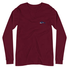 Load image into Gallery viewer, Embroidered Seward Sharks Logo -Unisex Long Sleeve Tee