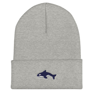 Embroidered Seward Sharks Logo - Cuffed Beanie