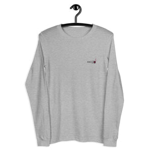 Embroidered Doobie Logo - Unisex Long Sleeve Tee