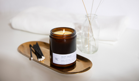 Pet-Friendly Dog-Friendly Natural Soy Wax Candle Pthalate-free