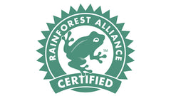 Rainforest alliance certified koffiebonen