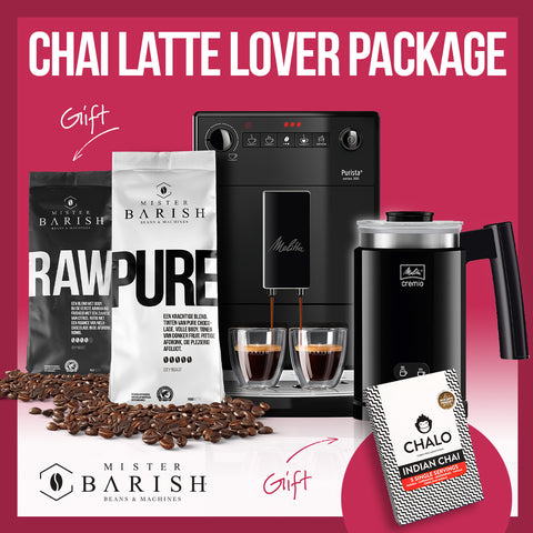 Mister Barish Chai Latte Lover Package