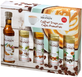 Monin mini koffiesiropen set Mister Barish