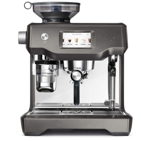 Sage Oracle Touch bean to cup espresso machine Black Stainless