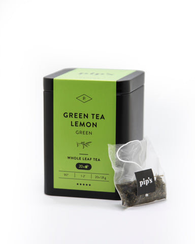 Green Tea Lemon - pip's - groen thee
