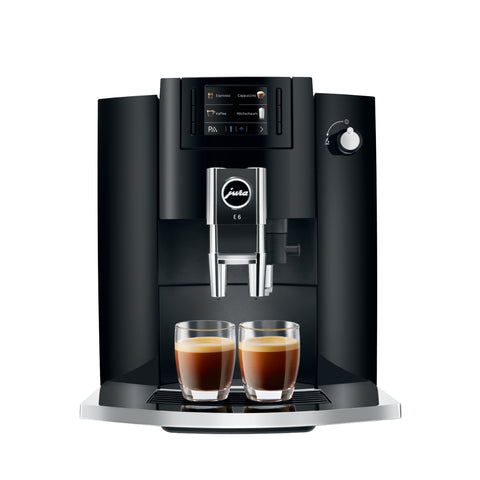 jura e6 koffiemachine black