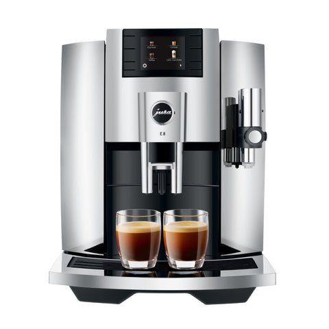 jura e8 chrome koffiemachine