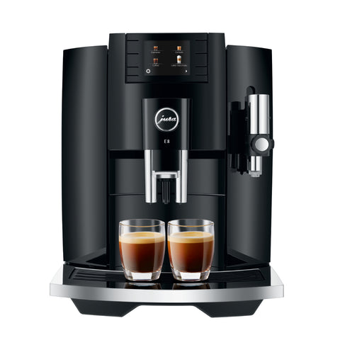 jura e8 eb piano black koffiemachine