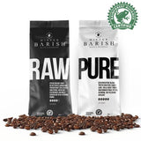 Mister Barish koffiebonen PURE en RAW Chai Latte Lover Package