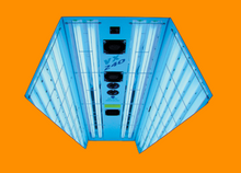 Load image into Gallery viewer, Five Panel Vertical Tanning Unit hire