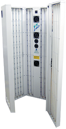 Five Panel Vertical Tanning Unit hire