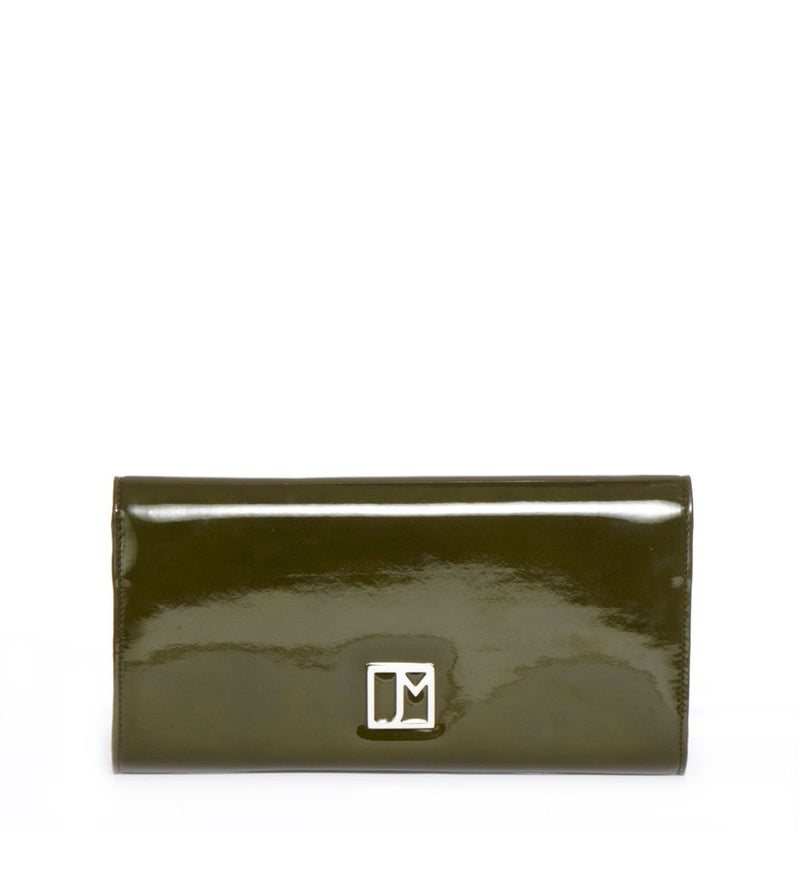 Chelsea Evening Clutch, Green