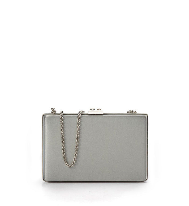 Art Deco Clutch, Gray