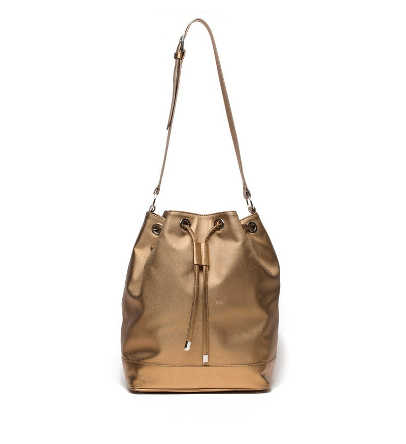 SoMa Bucket Bag, Gold Antique