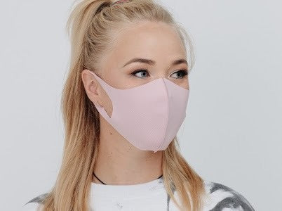 Pink Washable Face Cover