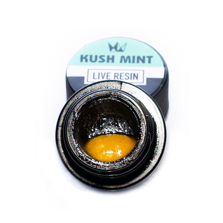 Kush Mint | Indica 1G Live Resin Sauce | West Coast Cure