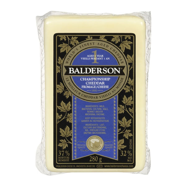 Balderson Cheese Championship 1 year
