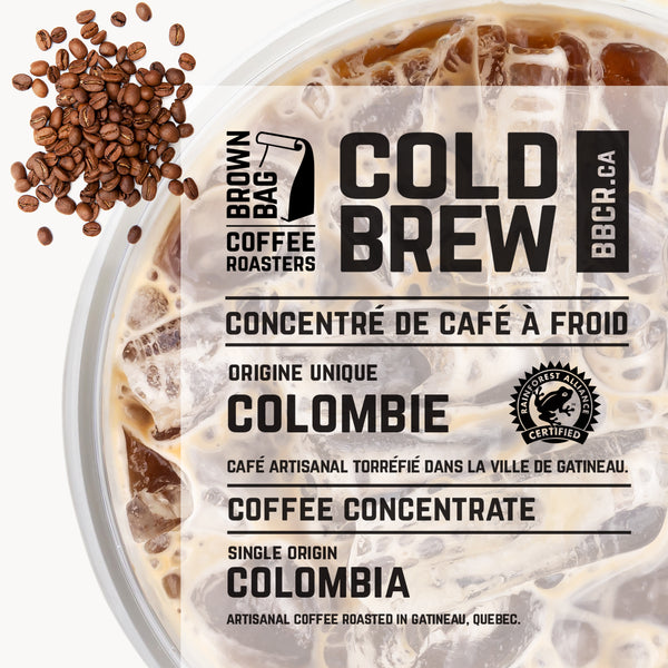 Coffee - Brown Bag Roasters Cold Brew