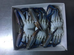 Blue Crab Sections  - IQF, Cleaned, Trays (Tunisia)