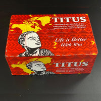 Canned Sardine - Whole, Titus Brand, In Soybean Oil
