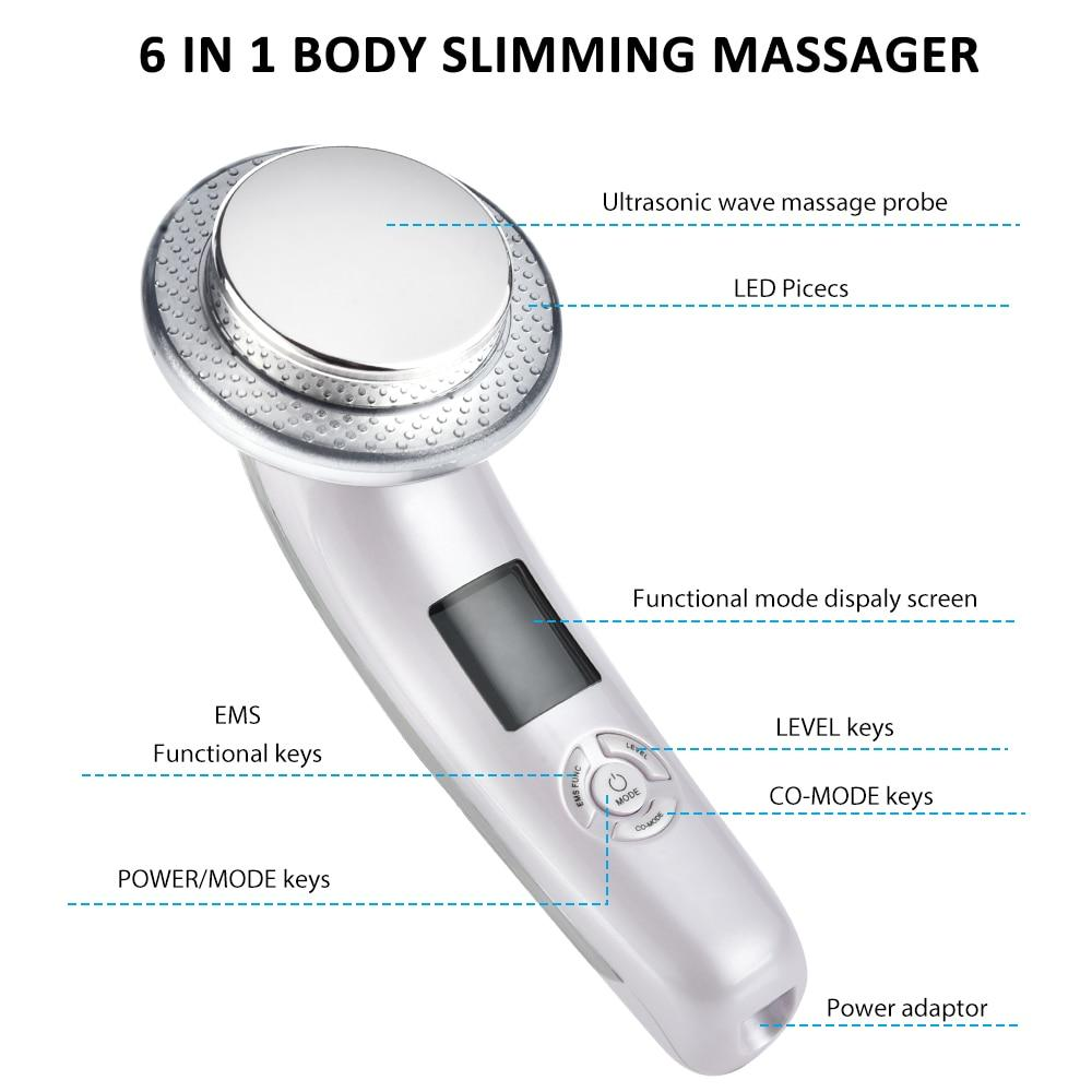 Sonic Slimming™ 6 in 1 Ultrasonic Slimming Device Weight Loss Device Sonic Slimming™