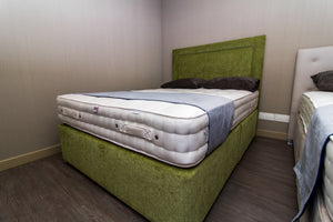 Lawley Pea Green Complete Bed Set