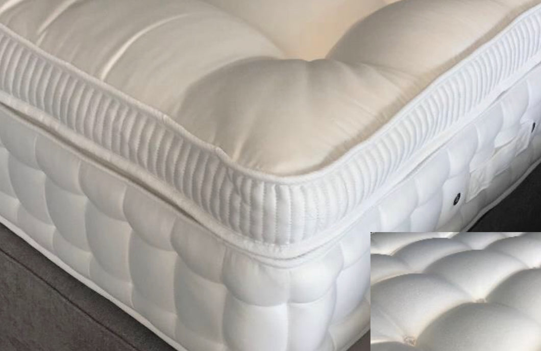 Britannia Tufted Mattress Topper - Bennetts Bedrooms