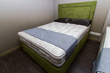Load image into Gallery viewer, Lawley Pea Green Complete Bed Set