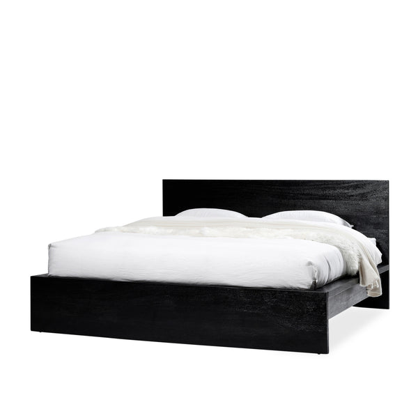 Platform Bed — Black - Empire Homewares